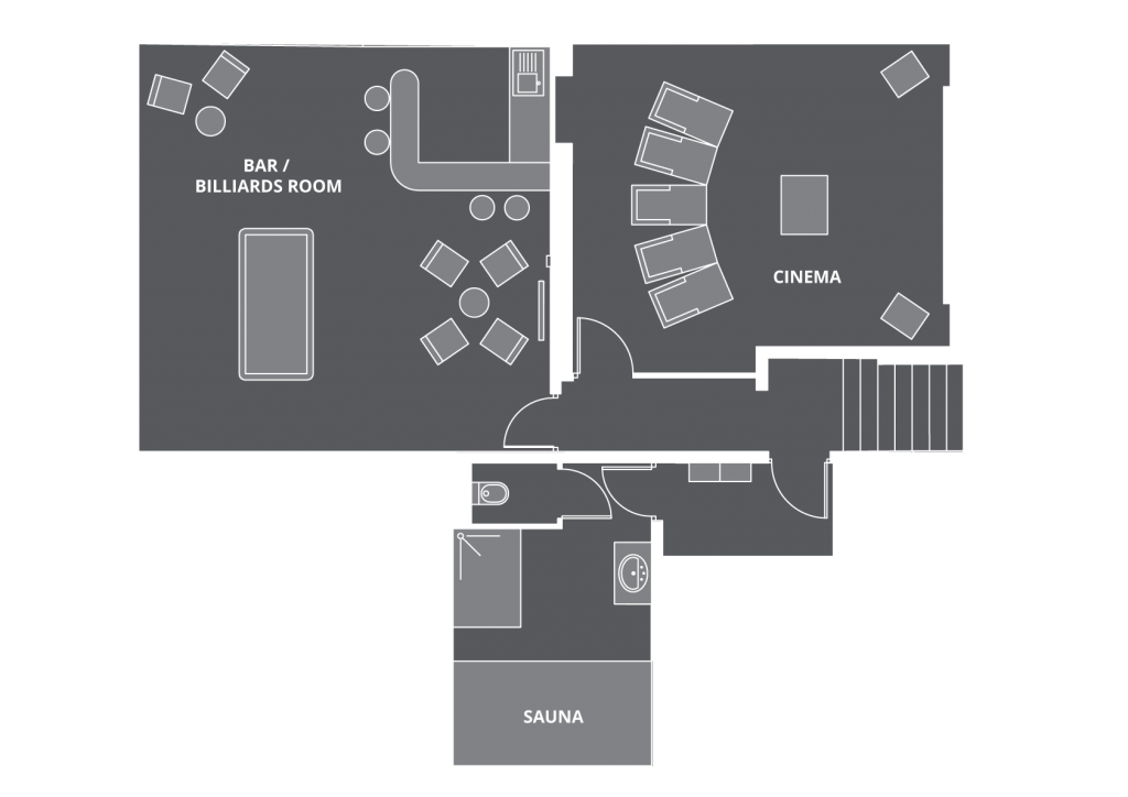 Chalet Chardon Floor Plan