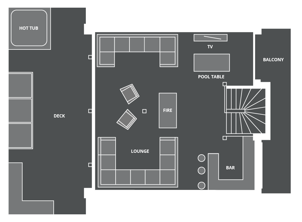 Lodge Des Nants Floor Plan