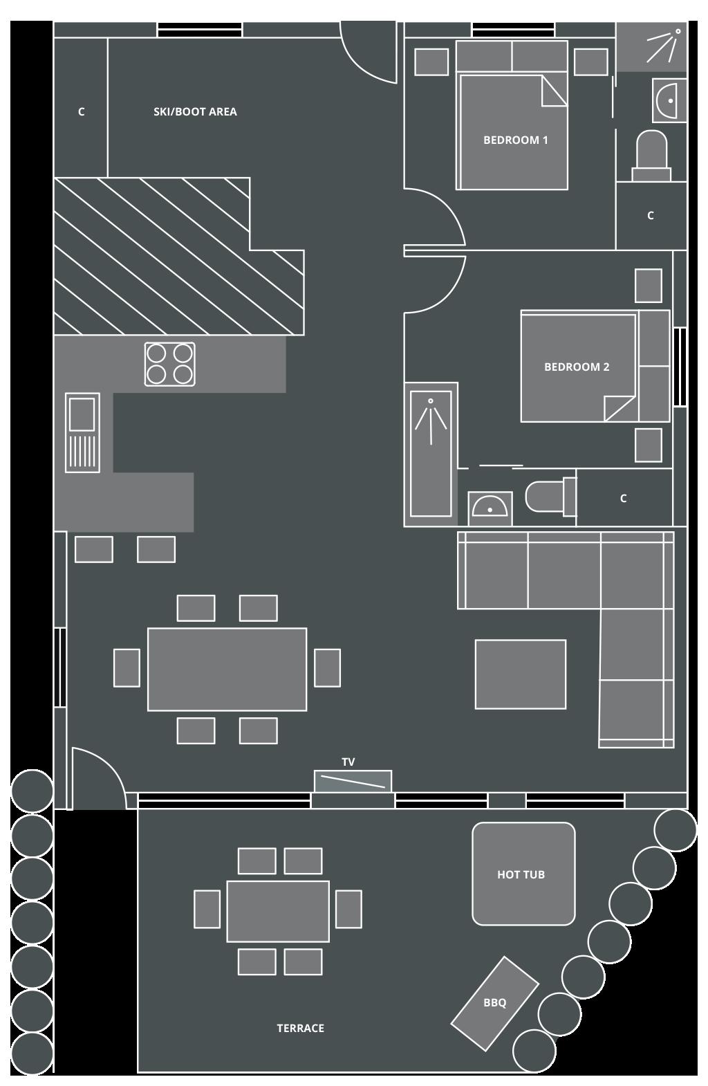 The Bungo Floor Plan