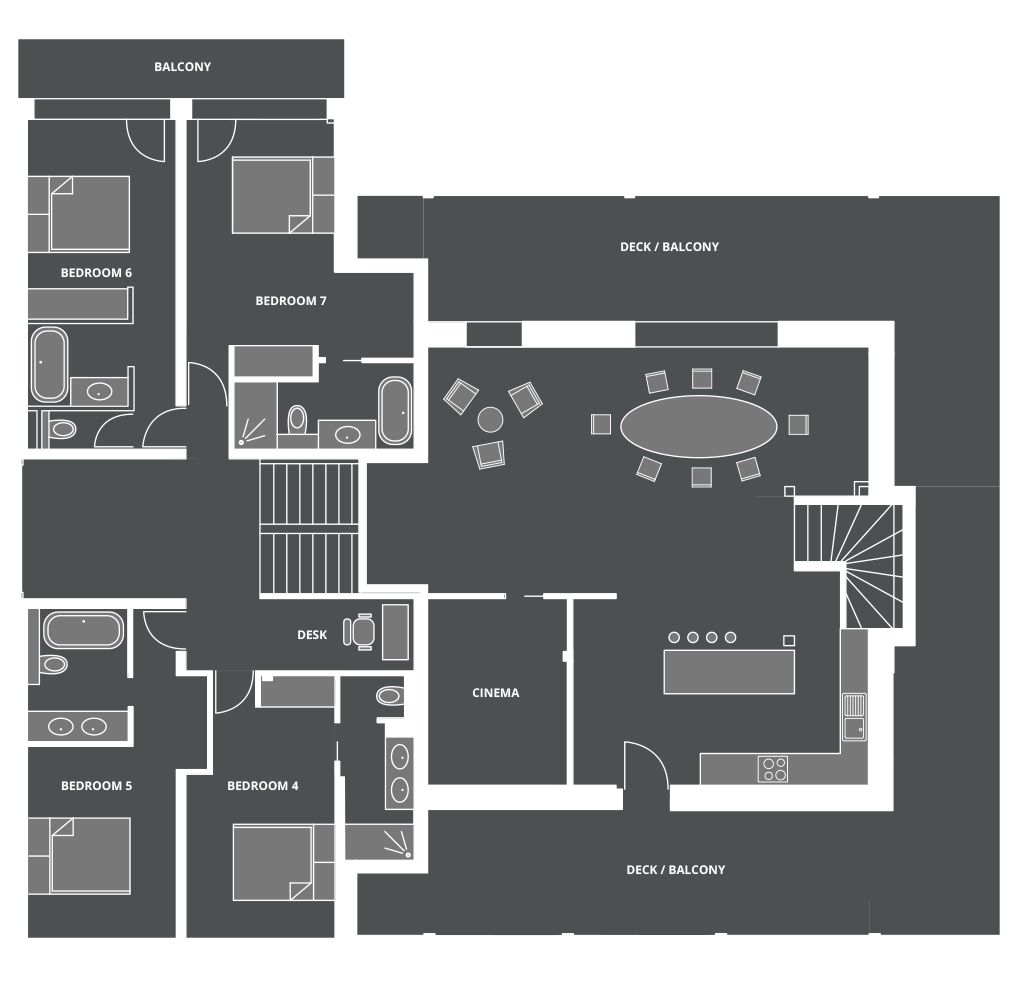 Lodge Des Nants Floor Plan