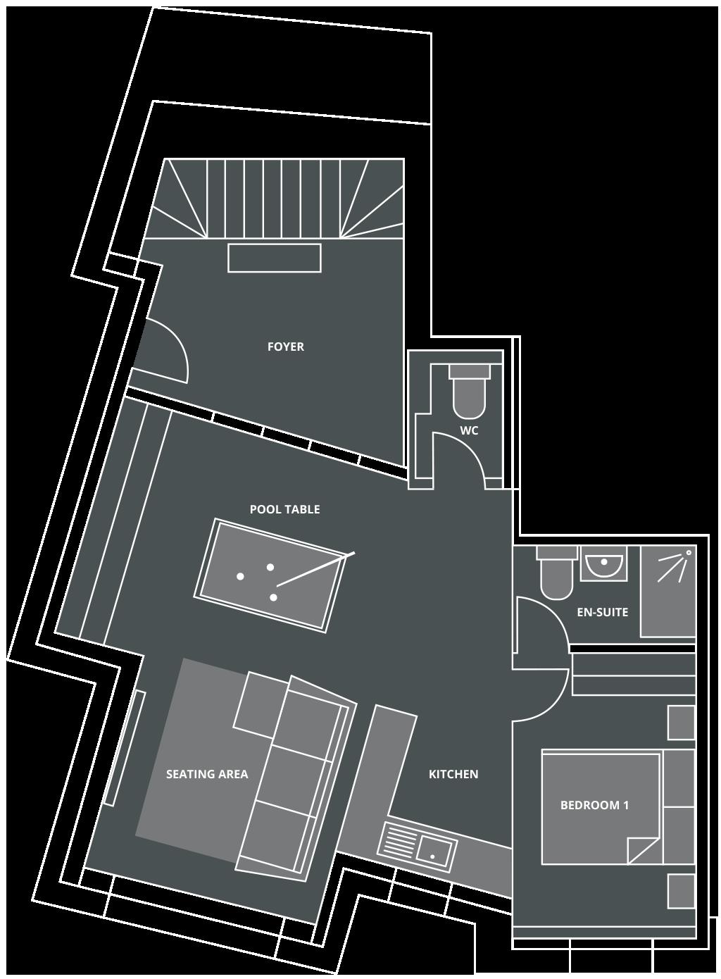 Chalet Genepi Floor Plan