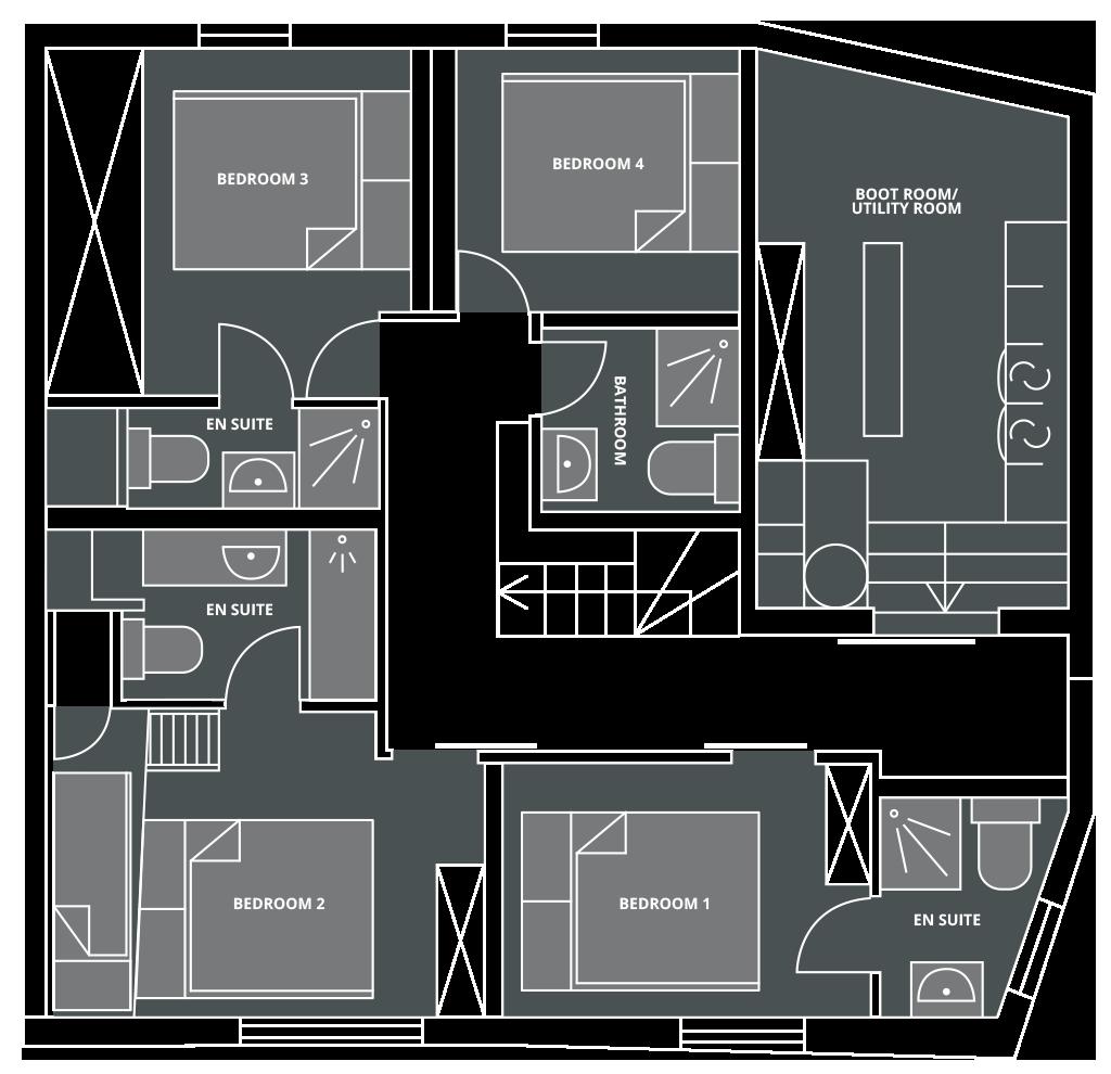 Chalet Vesper Floor Plan