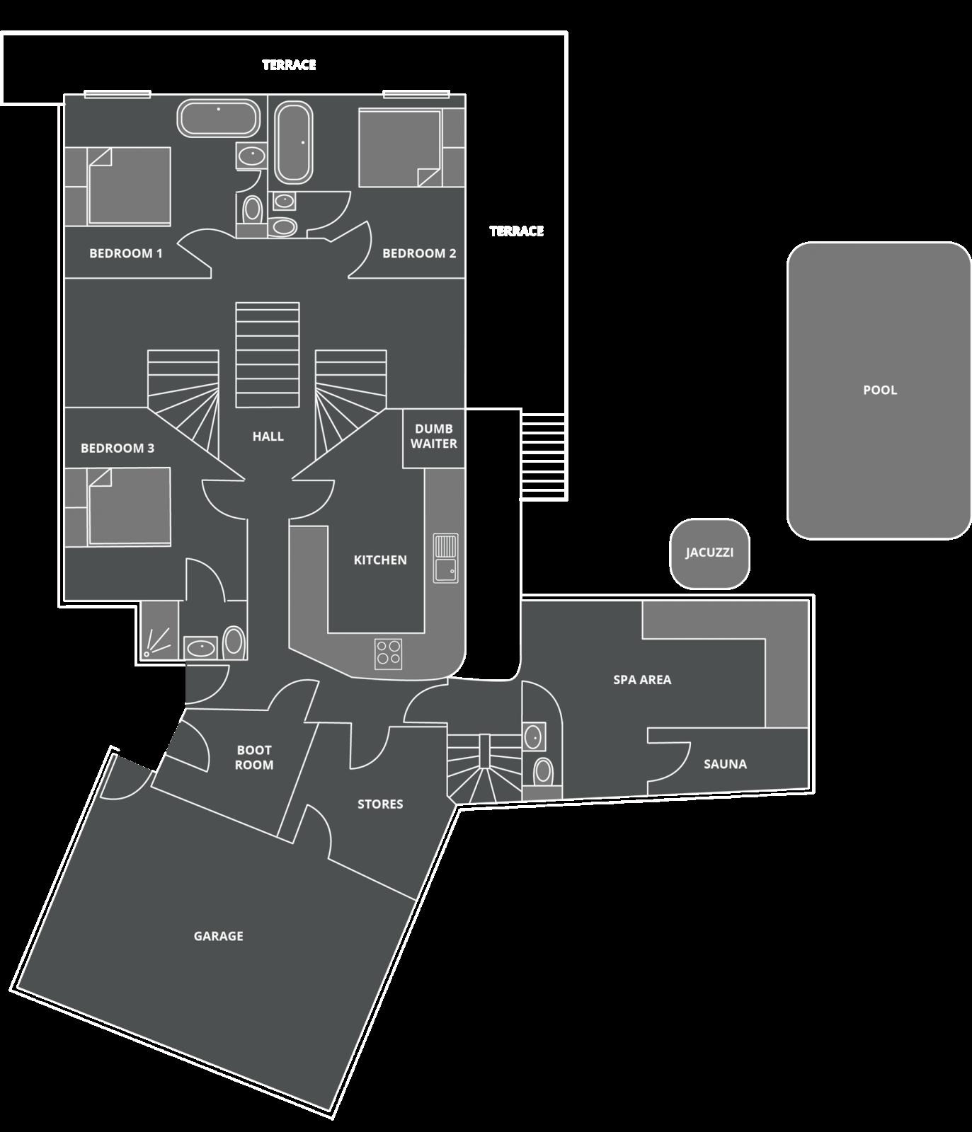 Grande Corniche Floor Plan